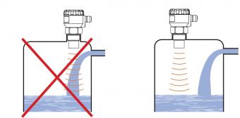 cách lắp đặt cảm biến báo mức nước liên tục không tiếp xúc