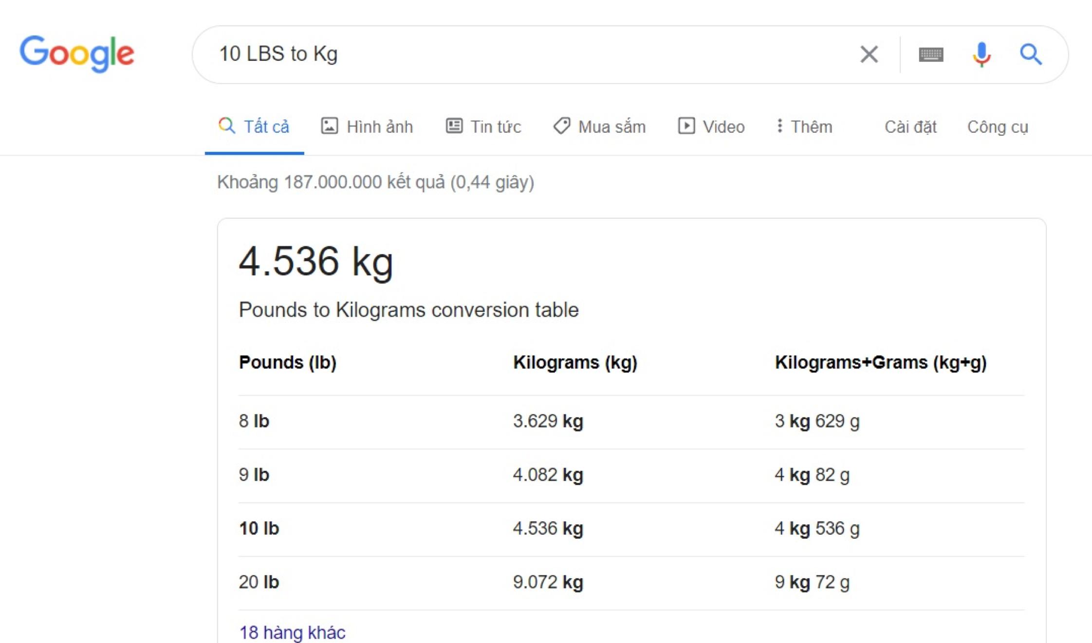 Chuyển đổi LBS thông qua Google