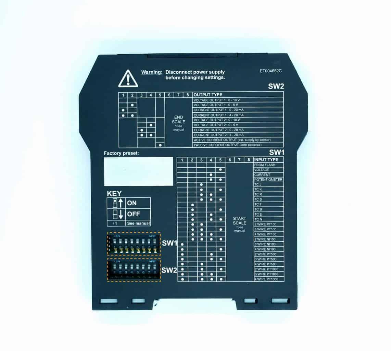 Cài đặt bộ chia tín hiệu 4-20mA Z170REG-1 | Input 1 x 4-20mA | Output 2 x 4-20mA