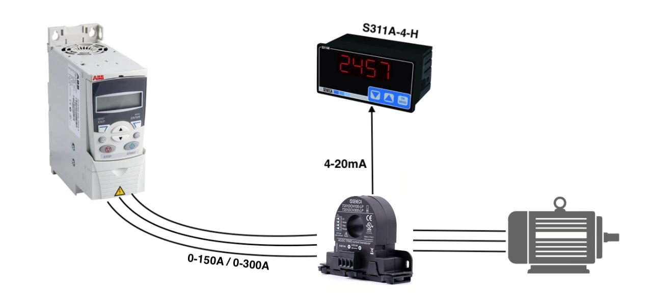 Bộ hiển thị dòng điện S311A-4-H