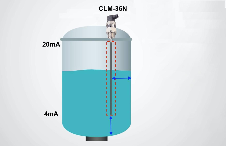 Cảm biến mức nước điện dung