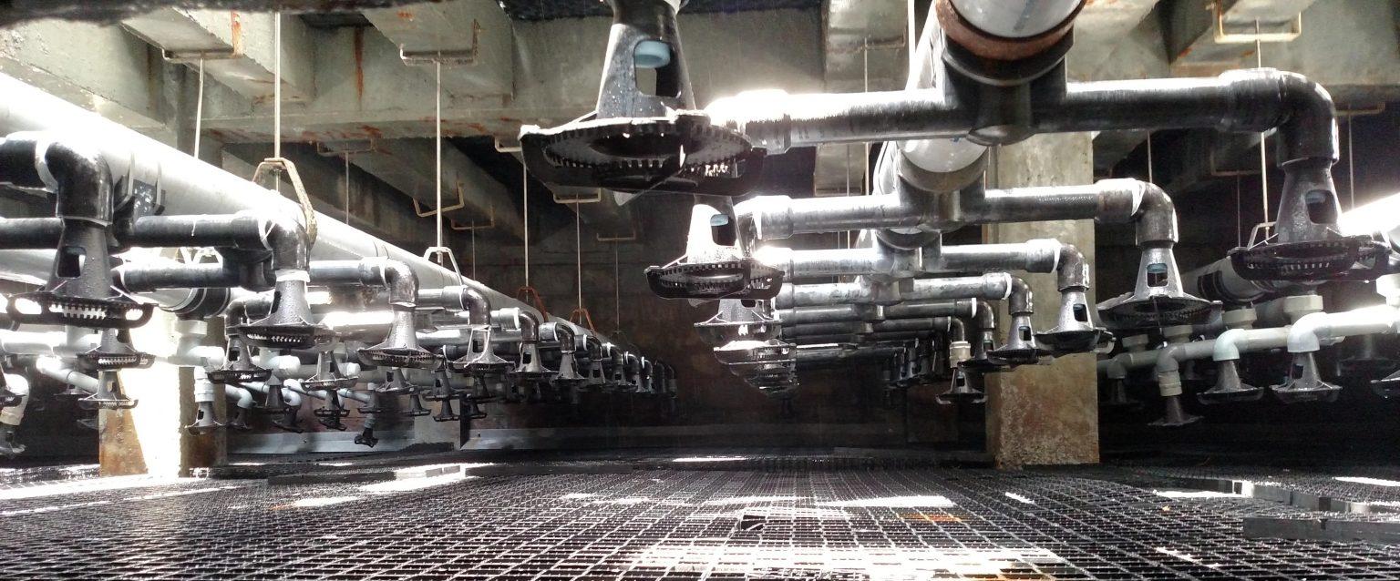 Hệ thống dẫn hơi trong nhà máy