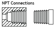 kiểu kết nối ren npt
