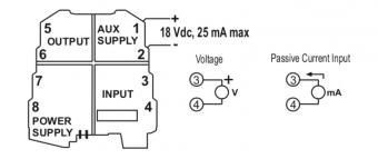bộ chuyển đổi 4-20mA sáng 0-10V