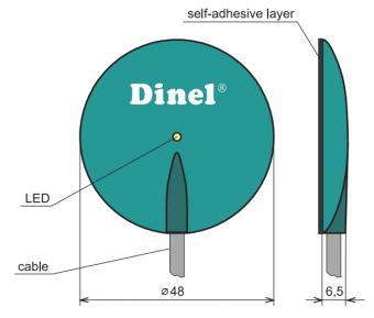 cách lắp đặt cảm biến báo mức nước trên kính