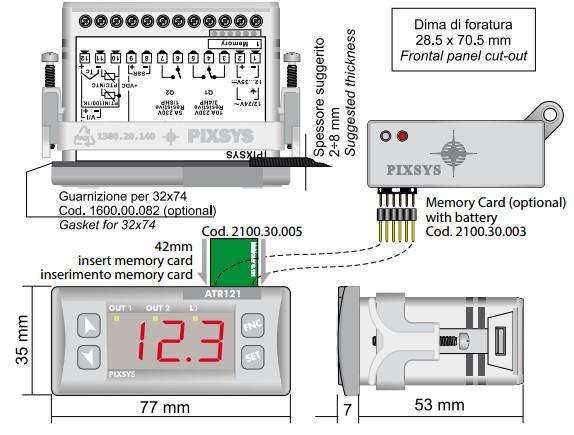 Kết nối bộ điều khiển atr121