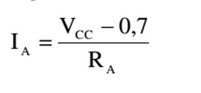 Công thức tính dòng điện thuận cực đại