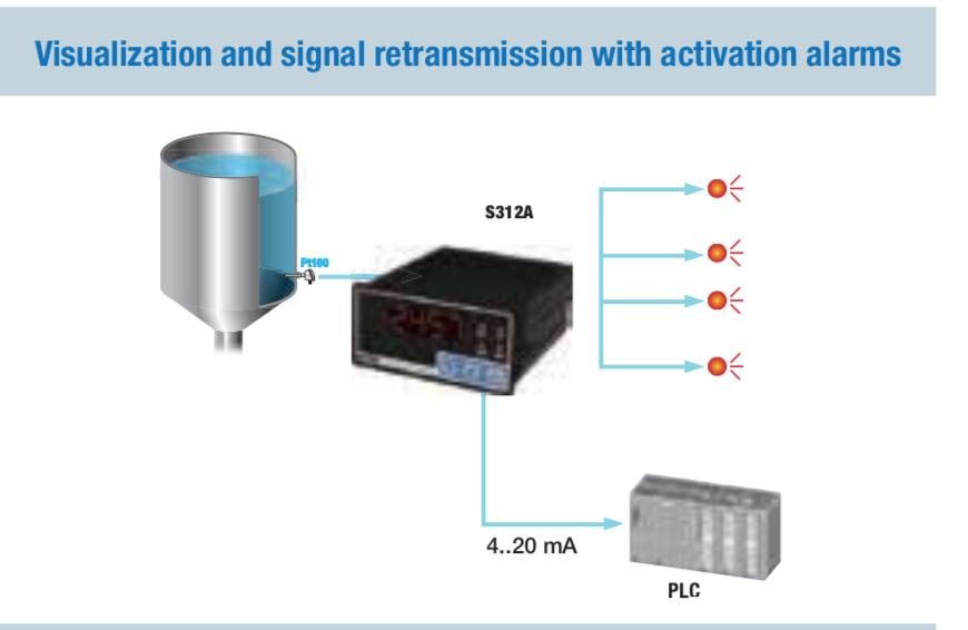 cách kết nối cảm biến nhiệt độ PT100 với bộ hiển thị nhiệt độ S311A-4-H-O