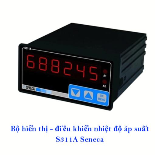 Hình ảnh bộ hiển thị nhiệt độ PT100 S311A-6 Seneca -Italy