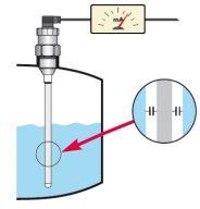 cảm biến đo mức điện dung