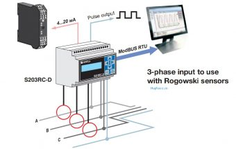 ứng dụng bộ đo điện năng với cảm biến rogowski