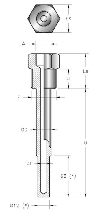 thermowell pb2