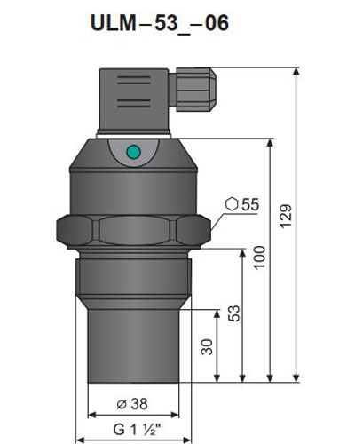 thiết bị đo mức dinel ulm-53n-06