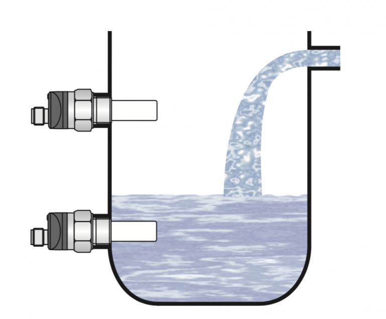 Sensor đo mức nước dạng tiếp xúc
