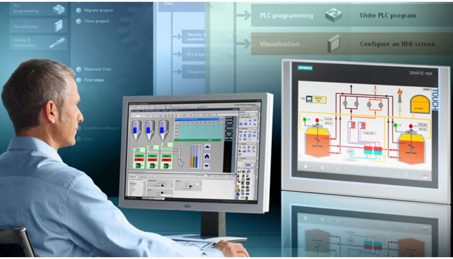 Các bước để lập trình cơ bản PLC là gì