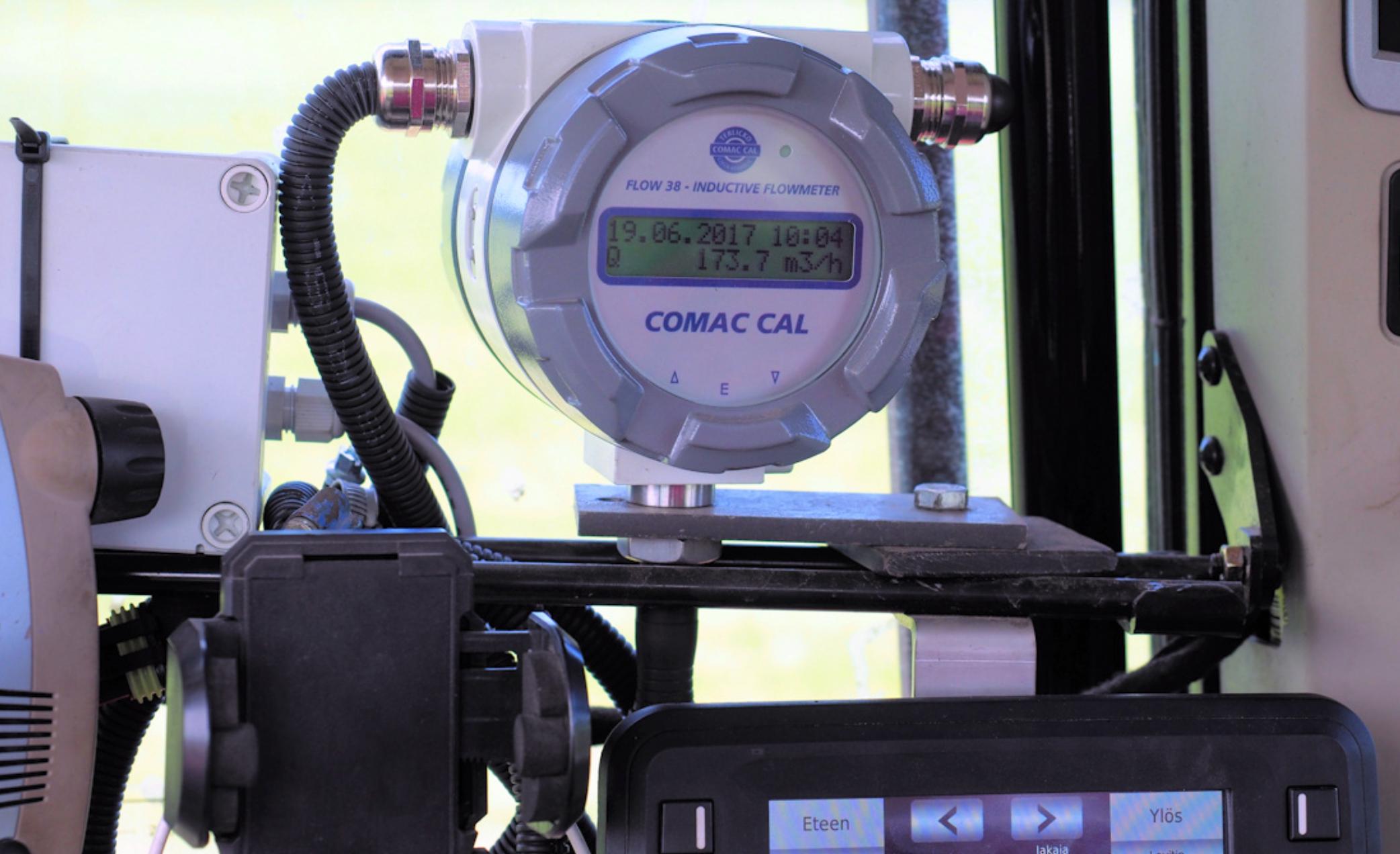 Đồng hồ đo lưu lượng Flow38 Comac Cal