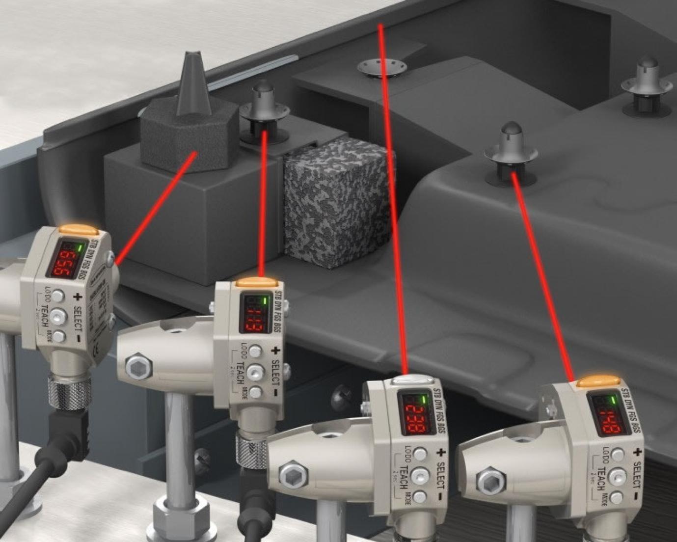 Ứng dụng cảm biến quang phản xạ khuếch tán