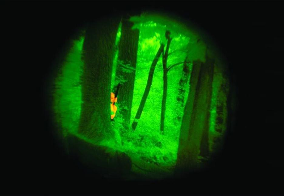 Bức xạ hồng ngoại sử dung được trong bóng tối