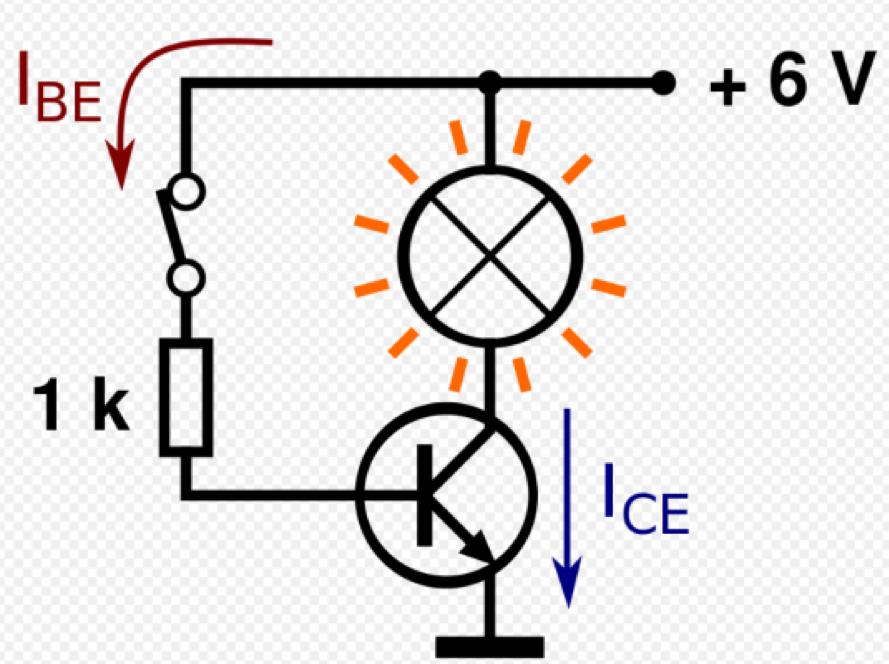 transistor làm công tắc