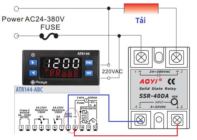 Relay bán dẫn điều khiển analog 4-20mA