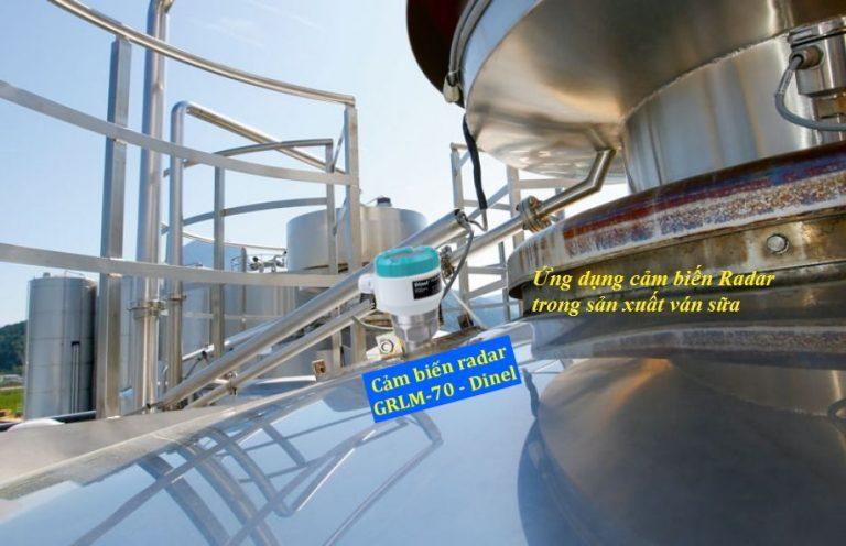 Ứng dụng cảm biến radar GRLM-70 Dinel
