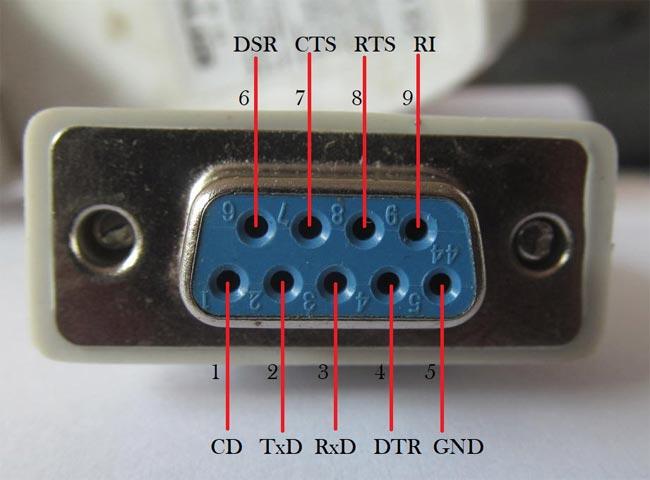 Đầu cái RS232 DB9