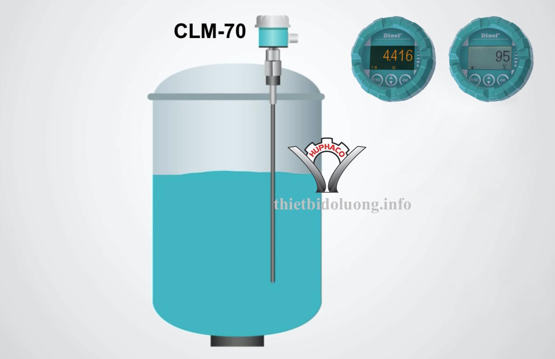 Cảm biến mức nước điện dung CLM-70