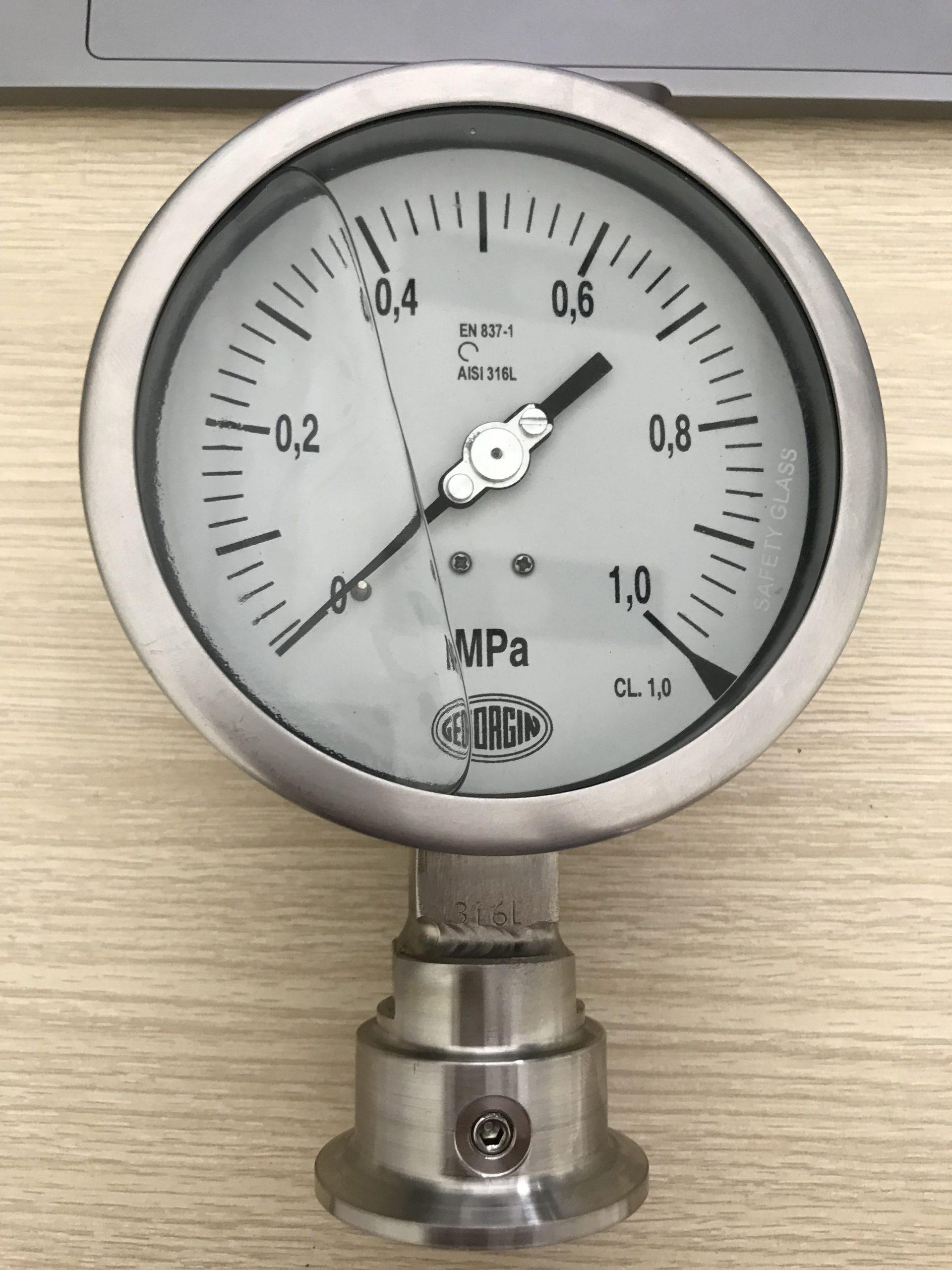Ứng dụng đồng hồ đo áp suất màng 0-1 Mpa