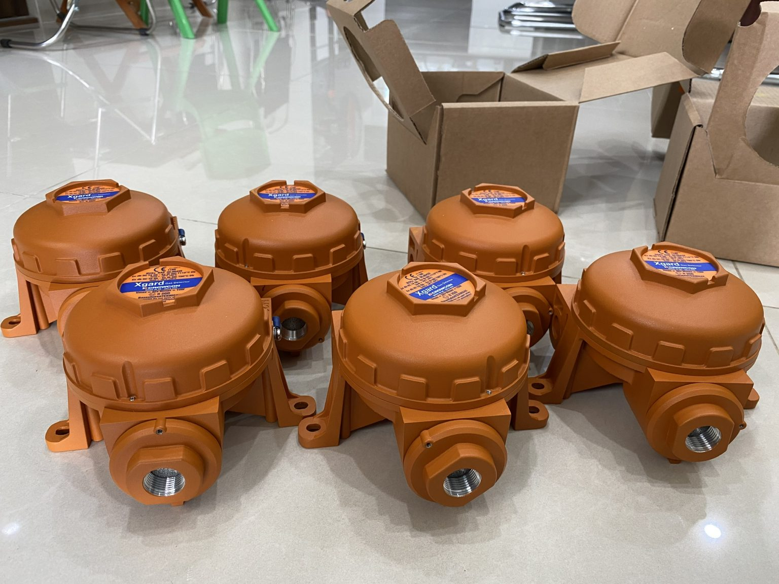 Cảm biến khí Gas LPG | Xgrad Crowcon – UK