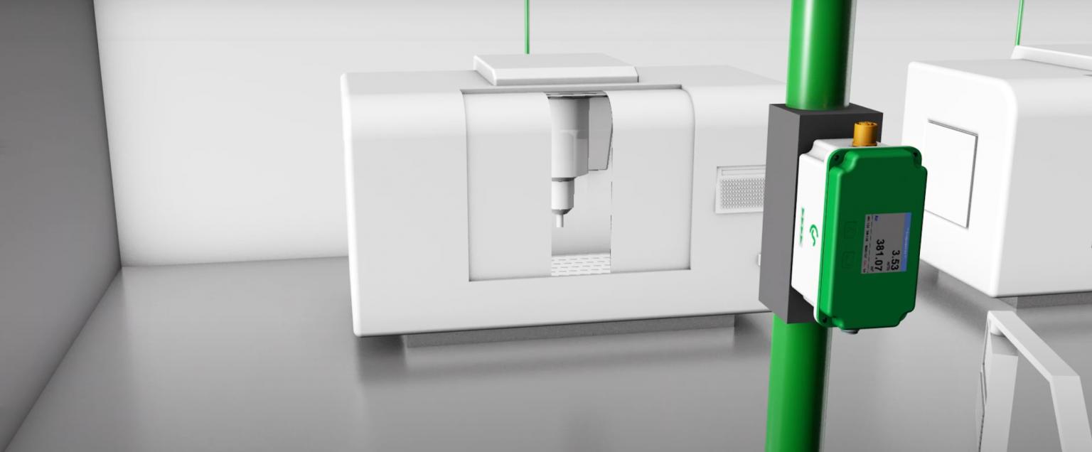 Đồng hồ đo lưu lượng khí nén cho đường ống nhỏ VA 521