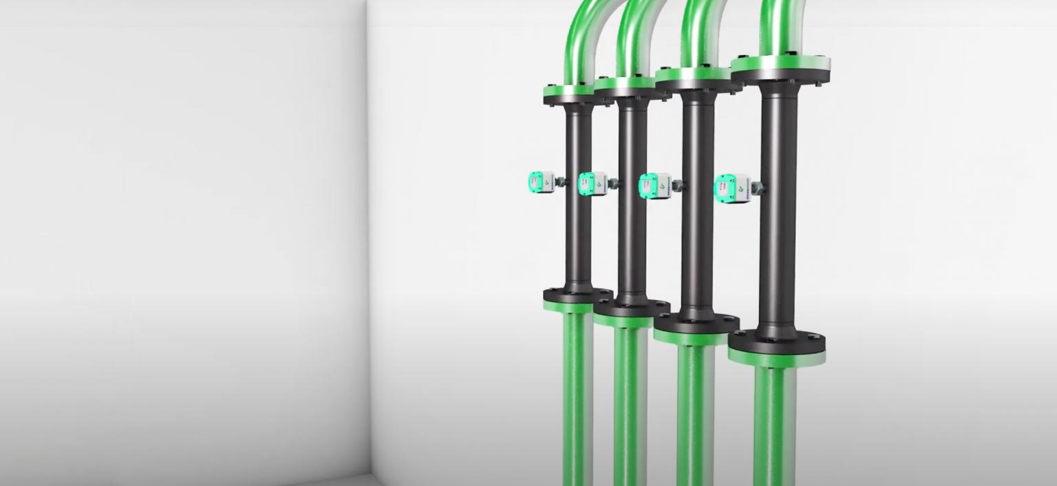 Đồng hồ đo lưu lượng khí nén sau máy xấy khô | VA 520