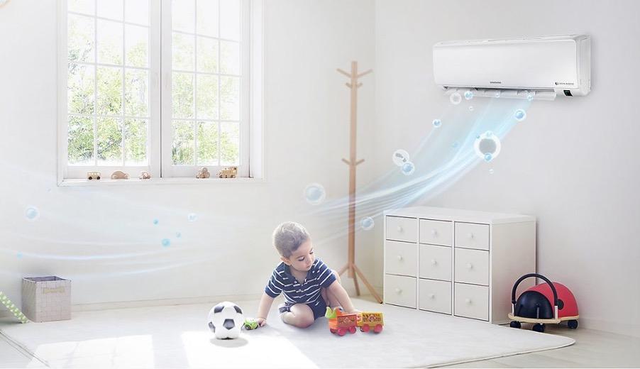 Máy lạnh gia đình nên chọn loại có công suất nhỏ