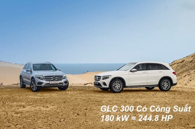 Công suất oto GLC 300 | 180 kW = 244.8 HP