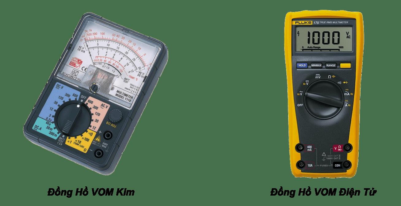 Đồng hồ VOM – một thiết bị không thể thiếu để đo biến trở