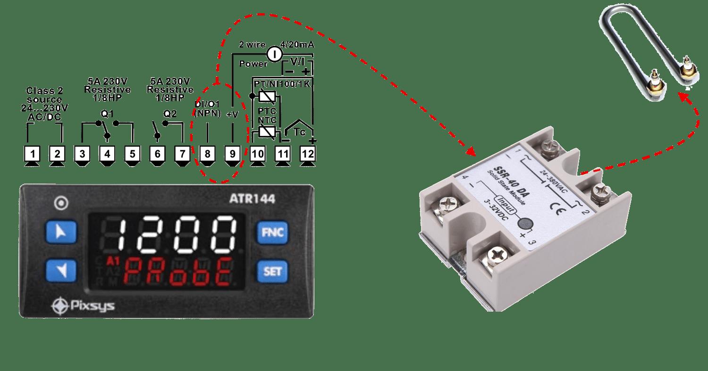 Ứng dụng Relay SSR trong điều khiển nhiệt độ