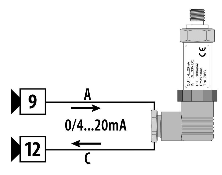 Cách đấu dây cảm biến áp suất 4-20mA 2 dây