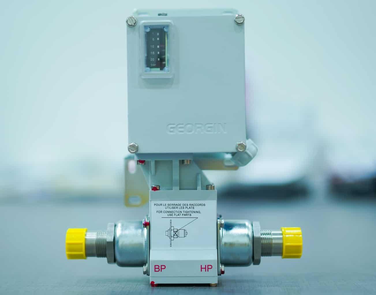 Công tắc chênh áp nước – khí gas
