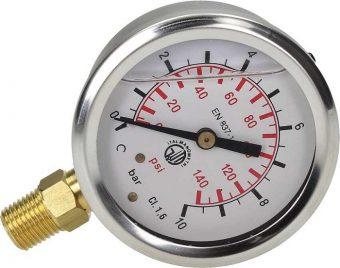 Đồng hồ áp suất có dầu là gì?