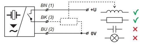 Lắp cảm biến siêu âm với tín hiệu ra p