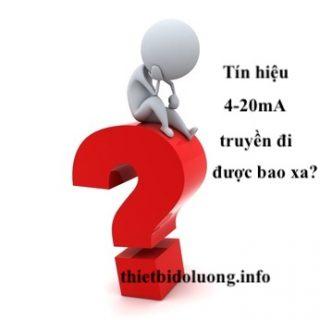 tín hiệu 4-20mA truyền đi được bao xa?